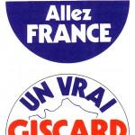 16 autocollants RI 1974