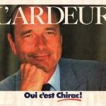 1988 affiche RPR chirac